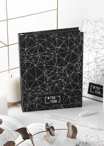 фото страниц Блокнот «Tse_Tobi» з чорними сторінками (чорний) + ручка #2