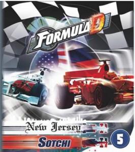 Настольная игра  Asmodee 'Формула Д: Нью-Джерси/Сочи' (2193)