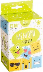 Настольная игра Muravey Games 'Мемори Смайлики' (на русском языке) (213098)