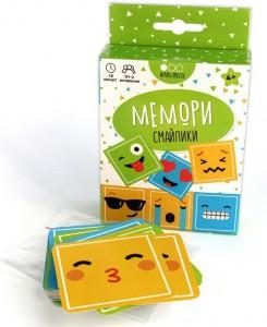 фото Настольная игра Muravey Games 'Мемори Смайлики' (на русском языке) (213098) #4