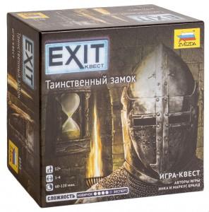 Настольная игра Zvezda 'Exit Квест. Таинственный замок (на русском) (231330)