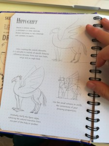 фото страниц Sketchbook. Fantastic Creatures and How to Draw Them #4
