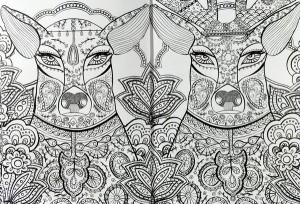 фото страниц Книга джунглів. (Не)класична розмальовка #3
