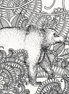 фото страниц Книга джунглів. (Не)класична розмальовка #2
