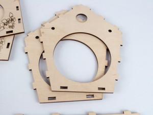 фото Дерев'яний 3D конструктор Зірка 'Годiвниця для пташок' (9785953918497) #2