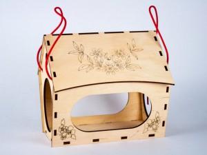 фото Дерев'яний 3D конструктор Зірка 'Годiвниця для пташок' (9785953918497) #7