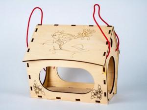 фото Дерев'яний 3D конструктор Зірка 'Годiвниця для пташок' (9785953918497) #6