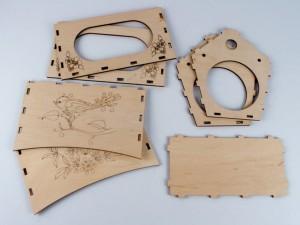 фото Дерев'яний 3D конструктор Зірка 'Годiвниця для пташок' (9785953918497) #4