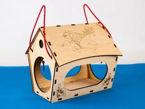 фото Дерев'яний 3D конструктор Зірка 'Годiвниця для пташок' (9785953918497) #8