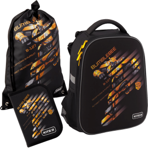 Суперкомплект для школьника 'Kite Education Transformers' (рюкзак, сумка, пенал)