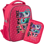 Суперкомплект для школьницы 'Kite Education My Little Pony' (рюкзак, пенал)
