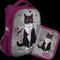 Суперкомплект для школьницы 'Kite Education Rachael Hale' (рюкзак, пенал)