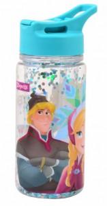 Подарок Бутылка для воды 1Вересня с блестками 'Frozen', 280 мл (706901)