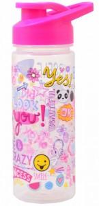 Подарок Бутылка для воды YES 'Be yourself ',500 мл (706910)