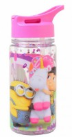 Подарок Бутылка для воды YES c блестками 'Minion Fluffy', 280 мл (706883)
