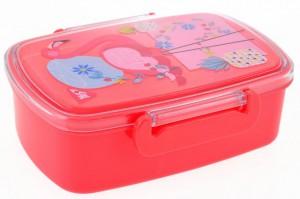 Подарок Контейнер для еды YES 'Flamingo', 750 мл (706858)