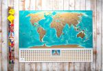 фото Скретч-карта мира My Map Flags edition #3