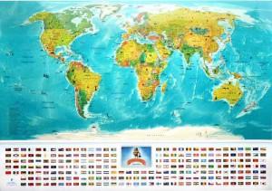 фото Скретч-карта мира My Map Flags edition #2