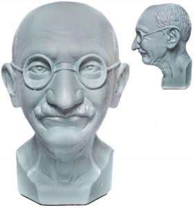 Подарок Скульптура-органайзер 'Махатма Ганди'