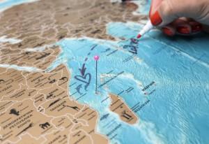 фото Скретч-карта мира My Map Flags edition #11
