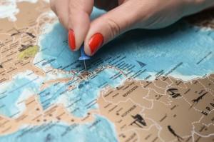 фото Скретч-карта мира My Map Flags edition #9