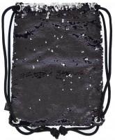 Сумка-мешок YES 'Black Sequins' (557659)