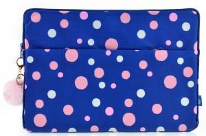 Чехол для ноутбука YES 'Confetti'  синий (557821)