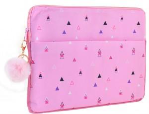 Чехол для ноутбука YES 'Triango'  розовый (557822)