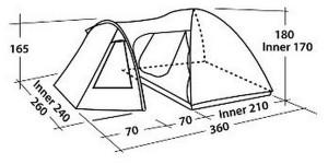 фото Палатка  Easy Camp Corona 400 (00000043260) #6