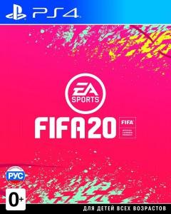 игра FIFA 20 PS4 - русская версия