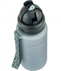 фото Бутылка для воды спортивная Uzspace  (400ml) серая (3024GR) #4