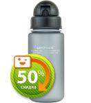 Бутылка для воды спортивная Uzspace  (400ml) серая (3024GR)