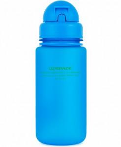 фото Бутылка для воды спортивная Uzspace (400ml) синяя (3024BL) #3