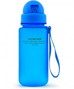 фото Бутылка для воды спортивная Uzspace (400ml) синяя (3024BL) #2
