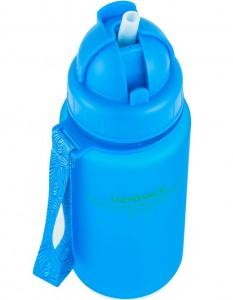 фото Бутылка для воды спортивная Uzspace (400ml) синяя (3024BL) #5