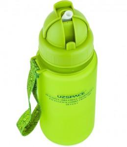 фото Бутылка для воды спортивная Uzspace (400ml) зеленая (3024GN) #3