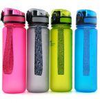 фото Бутылка для воды спортивная Uzspace (500ml) розовая (3026PK) #5