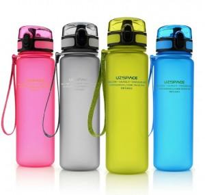 фото Бутылка для воды спортивная Uzspace (500ml) розовая (3026PK) #3