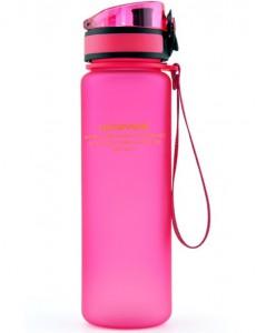 фото Бутылка для воды спортивная Uzspace (500ml) розовая (3026PK) #2