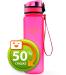 Бутылка для воды спортивная Uzspace (500ml) розовая (3026PK)