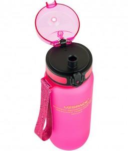 фото Бутылка для воды спортивная Uzspace (650ml) розовая (3037PK) #4