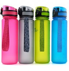 фото Бутылка для воды спортивная Uzspace (500ml) синяя (3026BL) #6