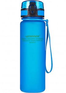 фото Бутылка для воды спортивная Uzspace (500ml) синяя (3026BL) #4