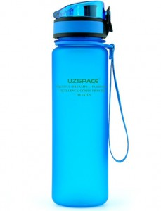 фото Бутылка для воды спортивная Uzspace (500ml) синяя (3026BL) #2