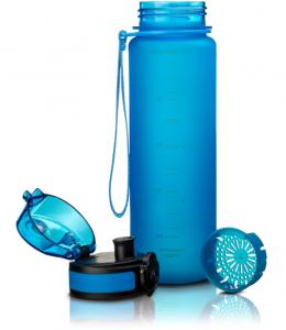 фото Бутылка для воды спортивная Uzspace (500ml) синяя (3026BL) #7