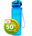Бутылка для воды спортивная Uzspace (500ml) синяя (3026BL)