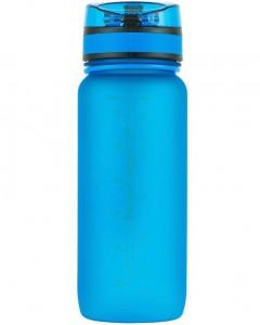 фото Бутылка для воды спортивная Uzspace матовая/голубая 3037 650ml Blue #4