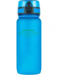 фото Бутылка для воды спортивная Uzspace матовая/голубая 3037 650ml Blue #2