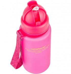 фото Бутылка для воды спортивная Uzspace (400ml) розовая (3024PK) #4
