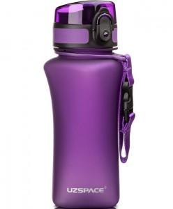 фото Бутылка для воды спортивная Uzspace  (350ml) фиолетовая (6007PL) #2